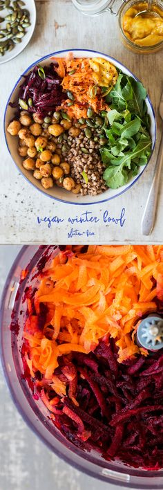 #vegan #healthy #salad #chickpeas #vegetarian #glutenfree #buckwheat #mango #lunchbowl #lunch #dinner