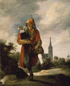 Jester  David Teniers the Younger - circa 1640