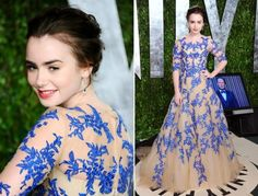 Queen of best fairytales dresses: Lily Collins