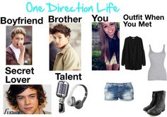"""""""One Direction Life"""" by kyliecraig ❤ liked on Polyvore"""