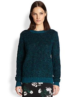 A.L.C. Adina Metallic-Knit Sweater