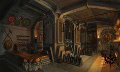 room dwarf forge throne warhammer dwarven iron minecraft fortress concept architecture fantasy buildings building interior homes age google dwarfs blacksmith