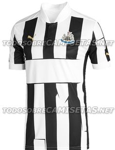 Newcastle Home Kit for EPL 2012/2013, i dont know how to say about their strange line?