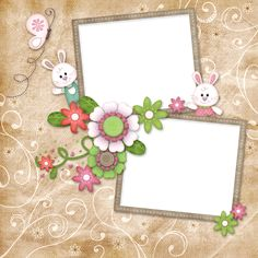 """Photo from album """"*Happy Hoppity*"""" on Yandex. Scrapbook Cover, Baby Scrapbook Pages, Scrapbook Sketches, Scrapbook Page Layouts, Scrapbook Frames, Baby Gift Wrapping, Boarders And Frames, Text Frame, Pop Stickers"""