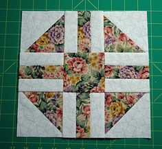 Sew Paths and Stiles, an Easy Quilt Block Pattern: Make Paths and Stiles Quilt Blocks