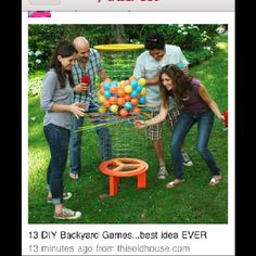 Back yard game - I wish it had instructions!