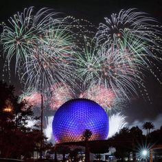 Credit: WDWOW Disney Fireworks, Epcot, Celestial, Park, World, Magic, Outdoor, Outdoors, Parks