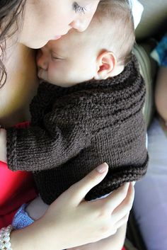 Ravelry:  Baby boy 5 hour sweater (pseeds' Little Coffee Bean)