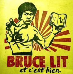 Bruce lit, et c'est bien! (By Tatoushinka)