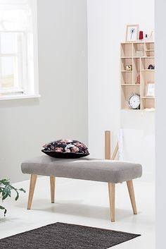 Scandinavial look - bench for many purposes - Jysk Scandinavian Style, Entryway Bench, Ottoman, Chair, Decoration, Inspiration, Furniture, Home Decor, Entry Bench