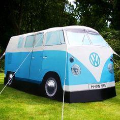 VW-Bus Zelt blau | design3000.de