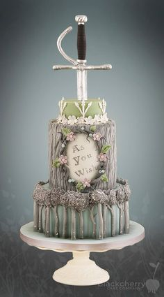 Una tarta super original. De cuento... :)