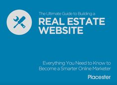 This 72-page ebook is an essential reading for agents, brokers, and real estate marketers looking to build a website that drives business. Covering choosing a domain name, building a site that works on all the mobile devices, making IDX search work for your customers, creating content, optimizing for lead capture, & making your brand look amazing online. Download your free copy. http://plcstr.com/1NlbBQe #realestate #websites