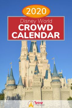 Planning to visit Disney World this year? Check out our free 2020 Disney World Crowd Calendar for the best and worst days to visit the parks! Disney World Planning, Walt Disney World, Disney Vacations, Disney Trips, Disney World Crowd Calendar, World 2020, School Calendar, Worst Day, Prep School