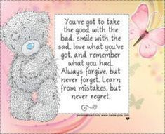Tatty teddy says it best. Teddy Bear Quotes, My Teddy Bear, Cute Teddy Bears, Tatty Teddy, Cute Images, Cute Pictures, Teddy Bear Pictures, Bear Pics, Blue Nose Friends