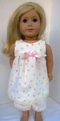 American Girl Doll Clothes Pajamas