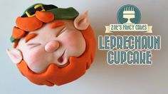How to make Leprechaun cupcakes for Saint Patricks day! You can find the collaboration videos below - Creative cakes by Sha. Cupcake Cakes, Cupcake Toppers, Fondant Cupcakes, Cupcake Ideas, Mini Cakes, Cupcake Recipes, Cookie Recipes, Little Boy Cakes, St Patricks Day Cupcake