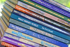 Interested in learning more about the Disney theme parks? Here's a great list of some books to check out!