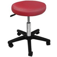 """Multi-purposes 17"""" to 21"""" Adjustable Height Hydraulic Stool 3"""" Foam Swivel PVC Leather Seat Burgundy w/ 5 Casters for Beauty Salon Tattoo Massage Chair Barstool Generic http://www.amazon.com/dp/B00DRE44VC/ref=cm_sw_r_pi_dp_QxIaub1DHS8S5"""