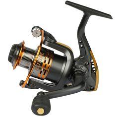 Pisfun Spinning Fishing Reel Metal Spool 6bb for Freshwater Saltwater 500 1000 2000 3000 4000 5000 6000 Series: http://amzn.to/2trlZXh