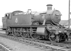 4176: British Railways built 2-6-2T No 4176 stands on the road outside Leamington shed on 5th October 1963