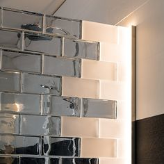 Interior, Glass Brick, Glass Blocks, Glass Door, Shower Pan Liner, Interior Design, Glass Wall, Bathrooms Remodel, Bathroom Partitions