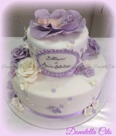 Baptism cake .... An idea from web