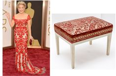 Bette Midler or Fortuny Fine Fabrics … Who Wore It Better? #whoworeitbetter #Oscars2014