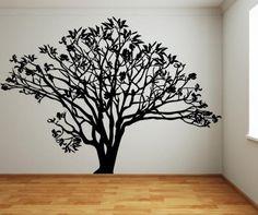 Vinyl Wall Decal Sticker Dogwood Tree #AC152