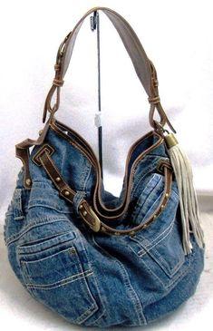 bolsas feitas com jeans - Pesquisa Google