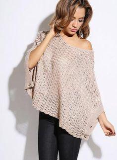 metallic sweater #poncho #offtheshoulder #oversizedsweater