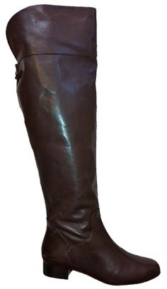Ros Hommerson Women's Beth Extra Wide Calf Over-the-Knee Boot (Brown)