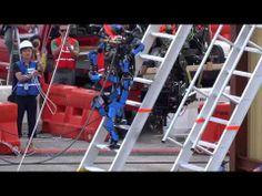 """▶ [DARPA Robotics Challenge]SCHAFT S-ONE """"Ladder"""" Trial - YouTube"""