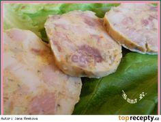 Salám z bůčku Pork Tenderloin Recipes, Aesthetic Food, Bucky, Fresh Rolls, Pesto, Potato Salad, Cooking, Ethnic Recipes, Meat Products