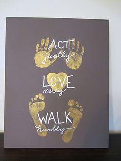 Micah 6:8 Act justly, love mercy, walk humbly