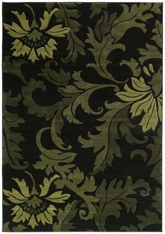 United Weavers Contours Orleans Green Rug | Traditional Rugs #