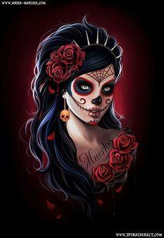 La Catrina   Tattoos   Pinterest   Sexy Portrait and Inspiration