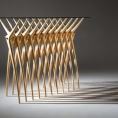 This console table is inspired by human vertebrae?  (in Indonesian)
