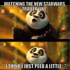 So relatable, so true, Kung fu panda 3, star wars, memes, funny memes,