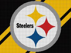 Looking for your next project? You're going to love Pittsburgh Steelers by designer YarnLoveAffair.