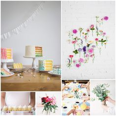 Made From Scratch Mood board: Pastel Blooms