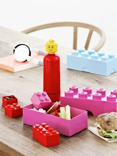 Plus Team PT40239 Lunch box Lego Rose (Import Grande Bretagne): Amazon.fr: Cuisine & Maison