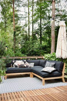 Outdoor Couch, Outdoor Seating, Outdoor Spaces, Outdoor Living, Outdoor Decor, Pergola Patio, Diy Patio, Backyard Patio, Patio Ideas