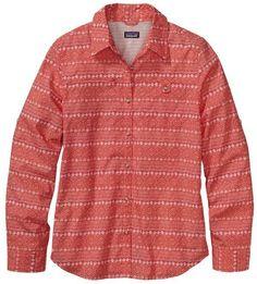 Patagonia Women's Long-Sleeved Island Hopper II Shirt