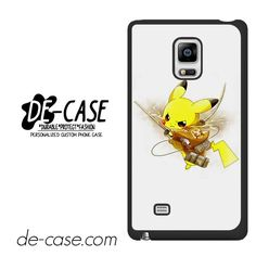 Pokemon Pikachu Attack Onbtitan Shingeki No Kyojin DEAL-8830 Samsung Phonecase Cover For Samsung Galaxy Note Edge