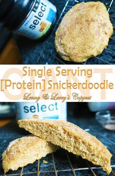 GIANT Single Serving [Protein] Snickerdoodle (Lenny & Larry's Copycat) 290 calories and 20 grams of protein per cookie!