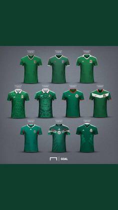 Jerseys de la seleccion mexicana de futbol