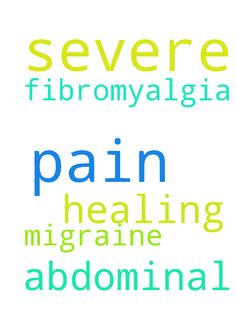 Please pray for healing of severe abdominal pain and - Please pray for healing of severe abdominal pain and severe pain from fibromyalgia and a migraine. Thank you.  Posted at: https://prayerrequest.com/t/B8o #pray #prayer #request #prayerrequest