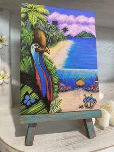"""Cassowary Coast"" Mini Print"
