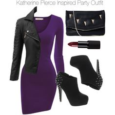 The Vampire Diaries - Katherine Pierce Inspired Outfit